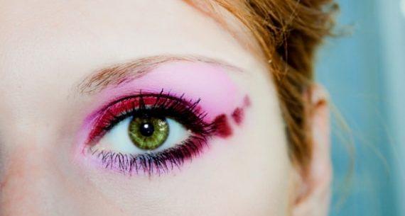 Sombras que destacam a cor dos olhos
