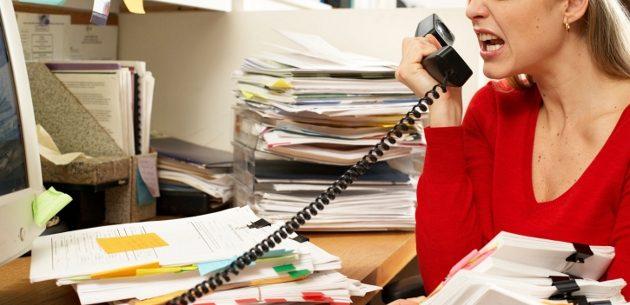 Como encontrar a calma no trabalho