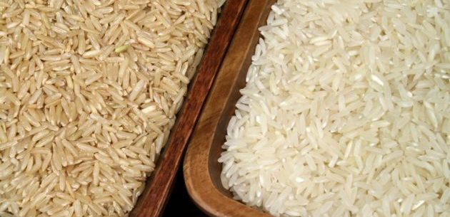 Benefícios do arroz branco e do integral