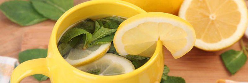 Propriedades do chá de casca de limão