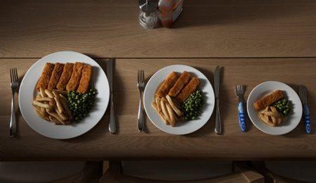 Servir porções individuais: Uma boa estratégia para comer menos