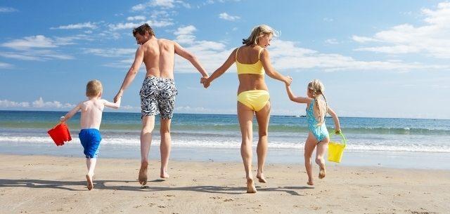 Saúde na praia