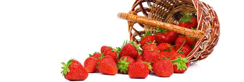 Morango: reduz o ácido úrico e fornece muitos outros benefícios