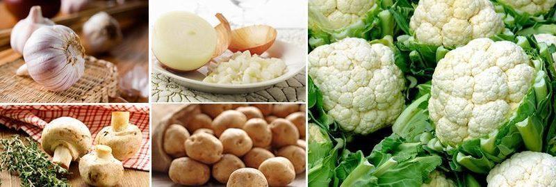 Vegetais brancos: Razões pelas quais devemos consumir