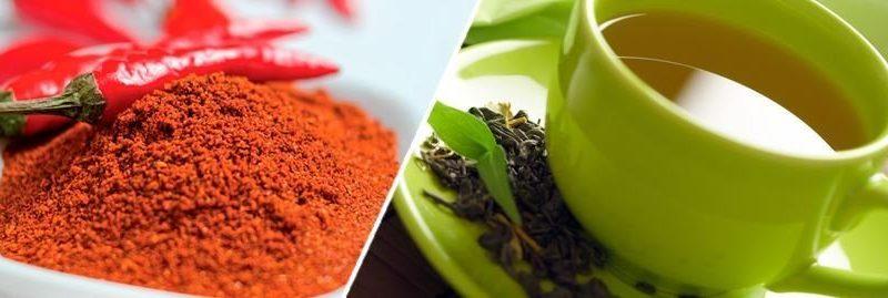 Emagrecer: chá verde com pimenta para acelerar o metabolismo