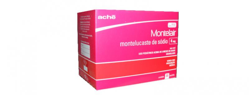 Para que serve e quais os efeitos colaterais do medicamento Montelair